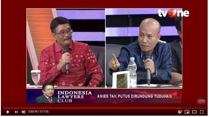 Sudah Disetop Karni Ilyas, Djarot Saiful Tetap 'Bela' Ahok di ILC saat Debat dengan Taufiqurrahman