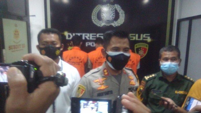 Patroli Karhutla Besar-besaran,  Polisi Ringkus Tiga Pelaku Illegal Logging di Petaling