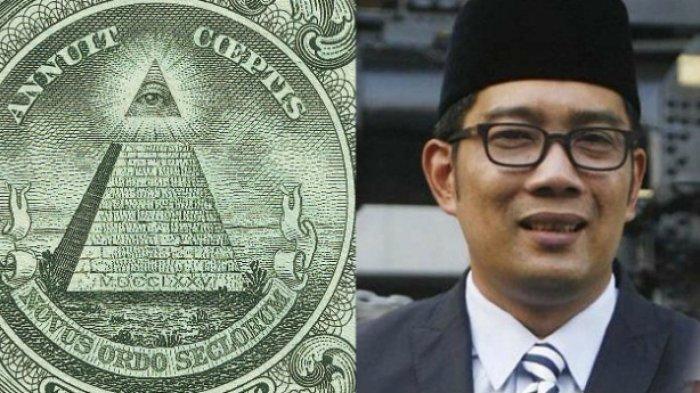 Heboh, Desain Masjid Ridwan Kamil Disebut Terpapar Iluminati, Apa Itu Iluminati? Ini Kata RK