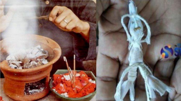 Ilustrasi disantet dan boneka santet