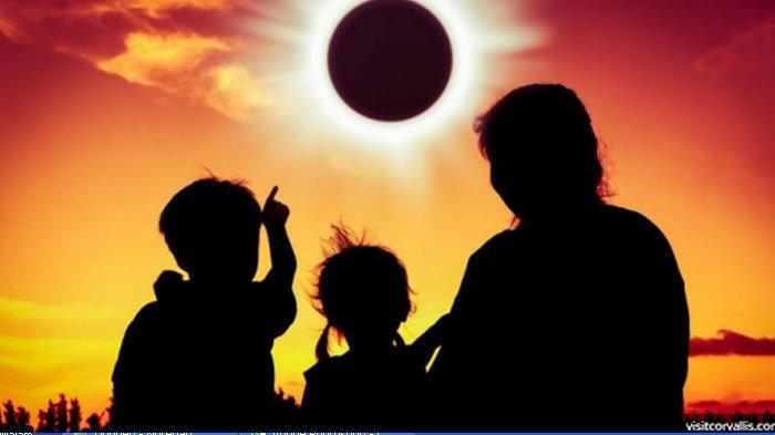 Bacaan Niat dan Tata Cara Shalat Gerhana Bulan