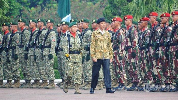 Diresmikan di Era Jokowi, Inilah Satuan Baru TNI Koopssus, Diisi 3 Pasukan Khusus dari 3 Matra TNI