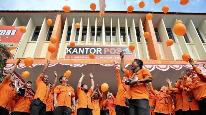 Ilustrasi karyawan PT POS Indonesia