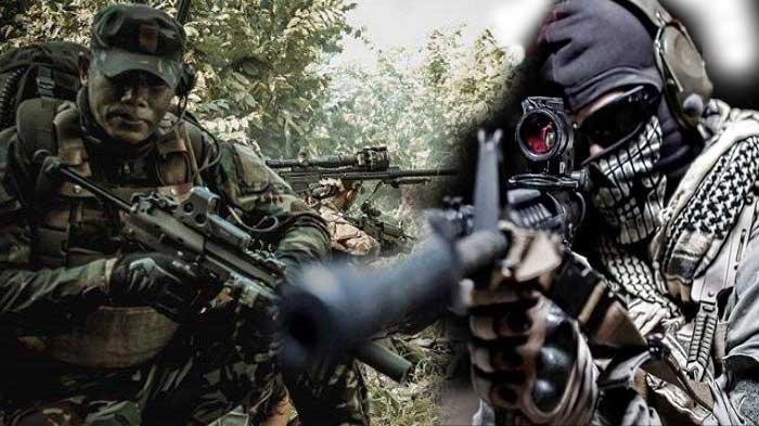 Ilustrasi Kopassus Vs tentara elite Inggris SAS