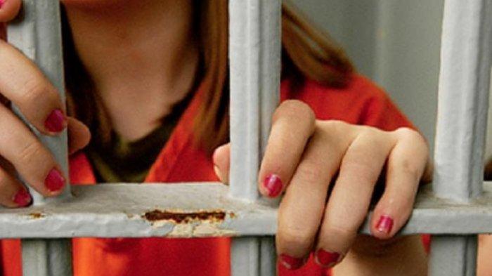 Ilustrasi penjara wanita.