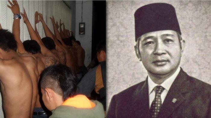 Kala Soeharto Geram Aksi Premanisme, 'Muncul Sosok 'Petrus', Tiba-tiba Ditemukan Dalam Karung