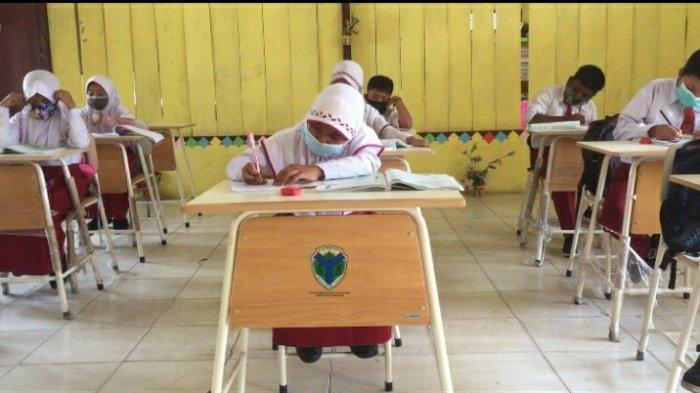 Proses Belajar Mengajar dan Ujian Kenaikan Kelas di Kabupaten Tebo Tetap Tatap Muka