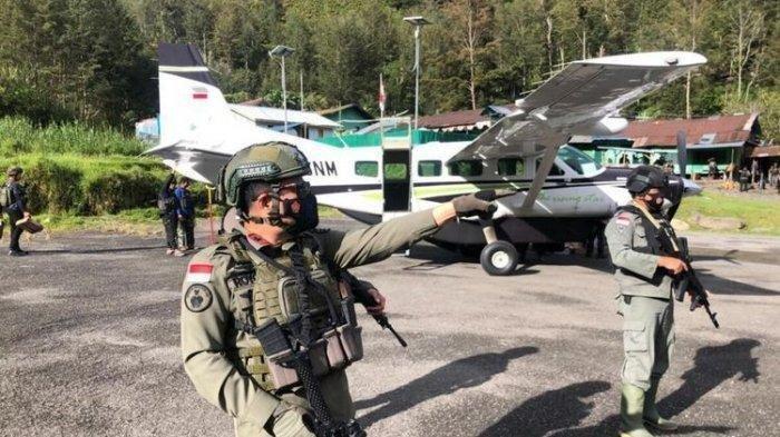 Kelompok Teroris KKB Papua Lekagak Telenggen Makin Beringas, Bakar Fasilitas Bandara Aminggaru Papua