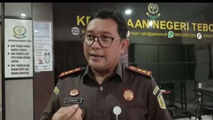 Dugaan Kasus Korupsi Peningkatan Jalan Padang Lamo di Tebo, Kejari Tebo Usut Tuntas