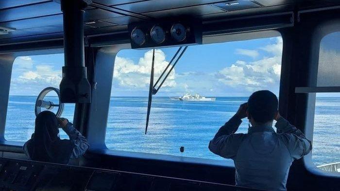 Indonesia usir kapal penjaga pantai China yang sudah 2 hari di Natuna Utara.
