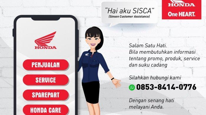 Info Honda Jambi, Hubungi SISCA, Beli Motor dan Suku Cadang Honda Sekarang Jadi Lebih Mudah!