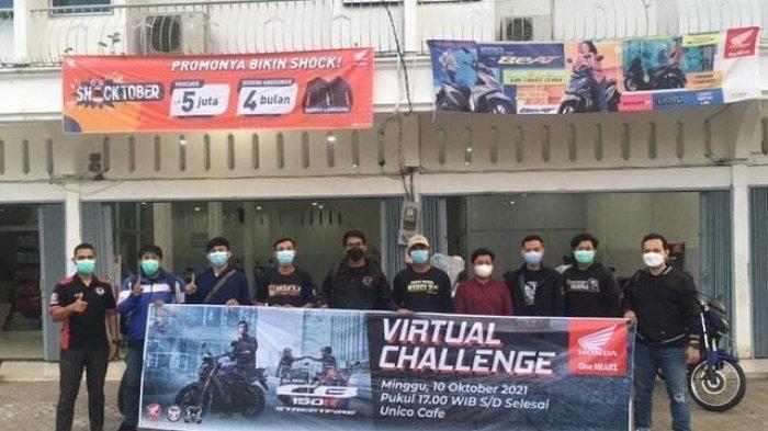 Info Honda Jambi, Sinsen Gelar Virtual Challenge All New Honda CB150R
