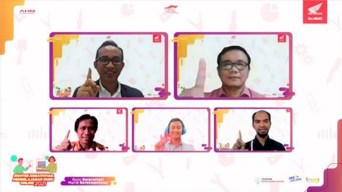 Info Honda Jambi, Inilah Guru SMK Terbaik dalam Mengajar Online Versi AHM