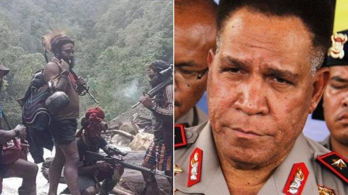 Kapolda Papua Sebut KKB Pimpinan Joni Botak Pengangguran yang Suka Cari Perhatian Pakai Senjata