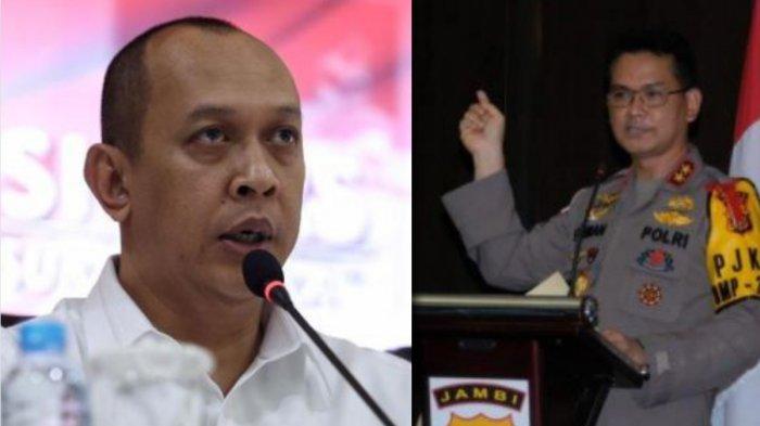 Irjen Pol Albertus Rachmad Wibowo gantikan Irjen Pol Firman Shantyabudi sebagai Kapolda Jambi yang baru