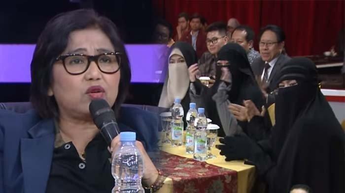 VIDEO: Irma Chaniago Jawab Soal Larangan Cadar, Kelompok Bercadar Niqab Squad Tepuk Tangan