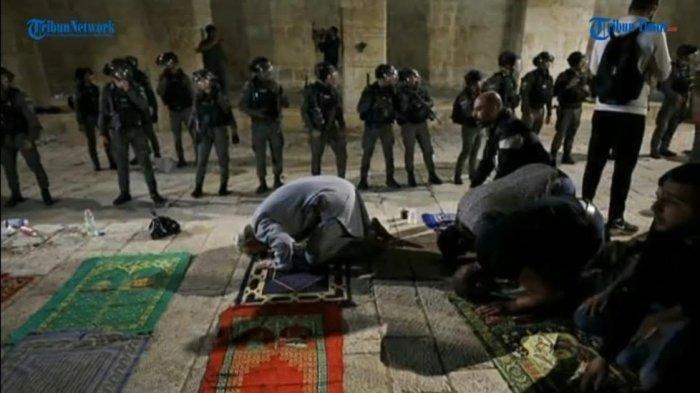 Alasan Tentara Serang Warga Shalat di Masjidil Aqsa, Ternyata Dipicu oleh Konflik Palestina Israel