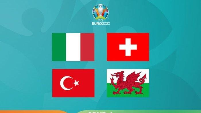 Jadwal Laga Grup A EURO 2020, Head to Head Italia Vs Turki yang Jadi Laga Perdananya