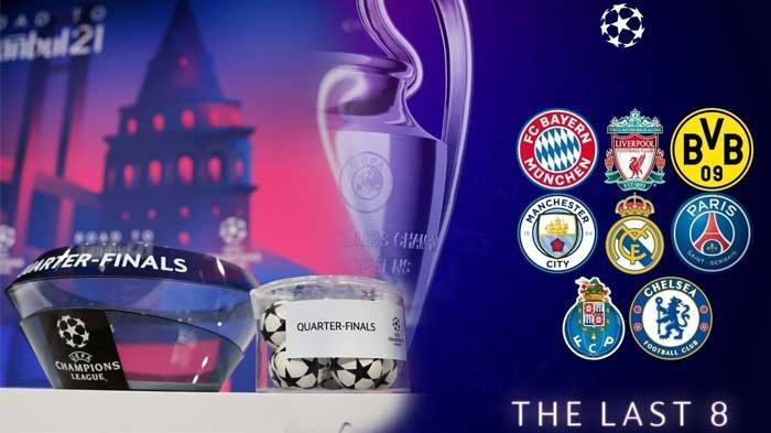LINK Nonton Drawing Liga Champions Babak Perempat Finals, Live Streaming Mulai Pukul 18.00 WIB