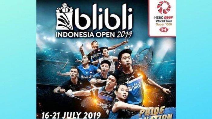 Live Streaming Indonesia Open 2019,  Greysia/Apriyani dan Jonatan Christie Lolos Ke Babak 2
