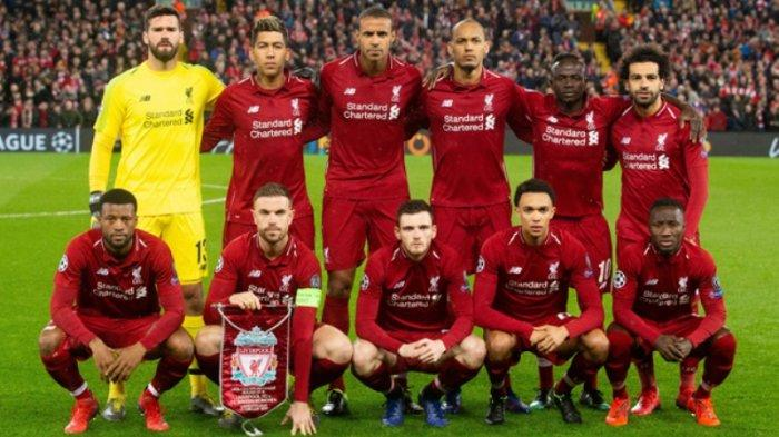 Jadwal Bola Malam Ini Live Streaming Liverpool vs Napoli Live Mola TV Mulai 23.00 WIB