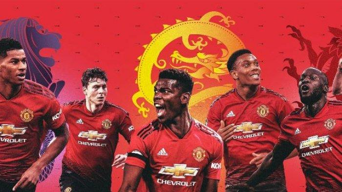 Jadwal Liga Inggris Manchester United Musim 2019/2020 Siaran Langsung TVRI, Live Streaming Mola TV