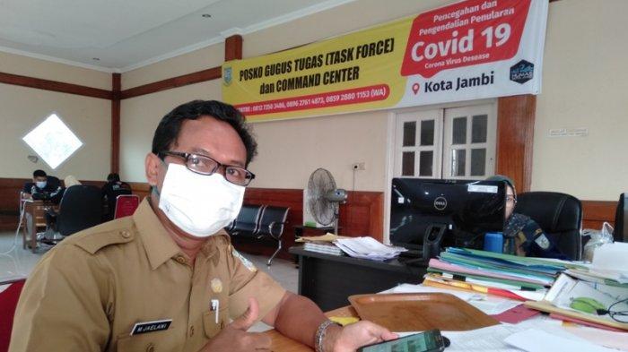 100 Pegawai Pemerintah Kota Jambi Diswab Test, Hasil Diperkirakan Keluar Dalam 3 Hari