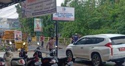 Jalan Amblas di Jembatan Jelutung Kota Jambi Sedang Diperbaiki, Diperkirakan Selesai Sore Nanti