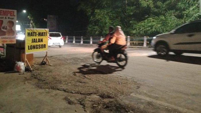 Pengendara Sudah Bisa Melintas di Jalan Gajah Mada Jelutung, Tetap Harus Hati-hati