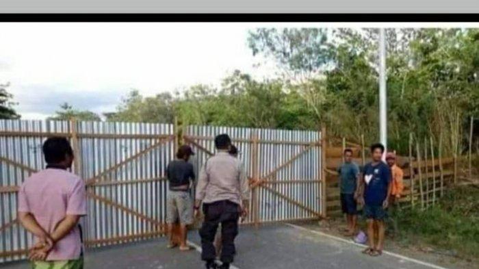 Viral di Medsos, Penutupan Jalan Ness dari Jambi Menuju Muara Bulian Kabar Hoaks
