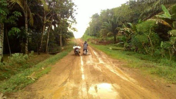 Sejumlah Jalan Nasional di Kabupaten Sarolangun, Mulai Rusak, Ternyata Ini Penyebabnya