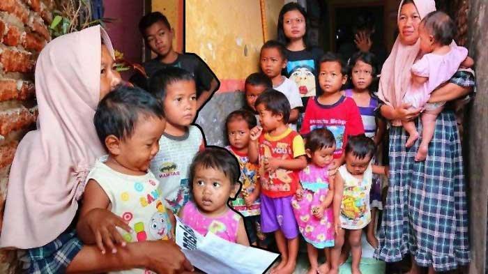 Kisah Sriyanti Janda 16 Anak, Penghasilan Cuma Rp 70 Ribu, Utang Sebanyak Rp 25 Juta