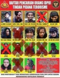 Kepolisian RI merilis selebaran daftar pencarian orang (DPO) yang merupakan kelompok jaringan Mujahidin Indonesia Timur (MIT) Poso.