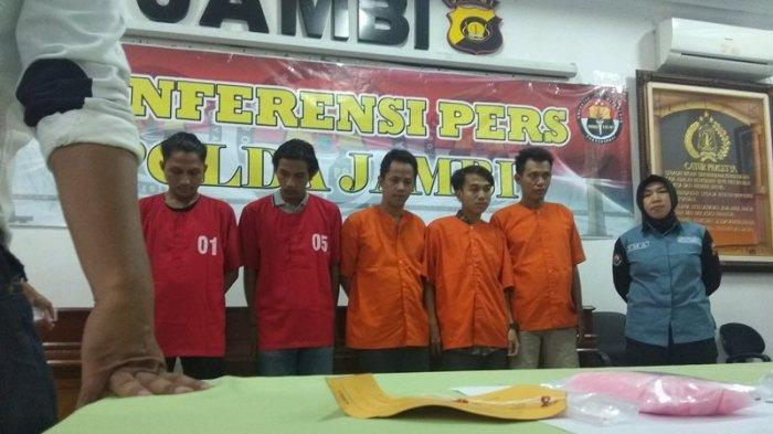 6 Pelaku Penyelundupan Ribuan Ekstasi di Jambi Ternyata Satu Jaringan, Ditangkap di