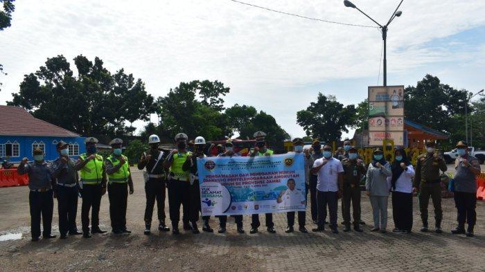 Jasa Raharja Turut Serta Gakkum Penyelenggaraan Angkutan Umum Bersama BPTD Wilayah V Jambi