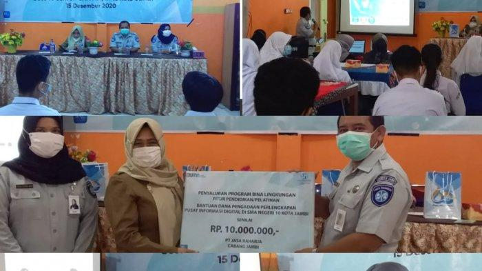 Jasa Raharja Goes To SMAN 10 Kota Jambi