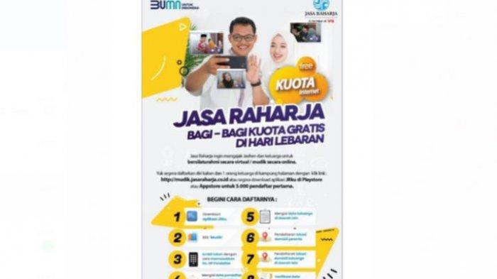 Jasa Raharja memfasilitasi mudik melalui program Mudik Online Aman dan Enak (MOL-AE) Ala Jasa Raharja pun diluncurkan, untuk mengobati kerinduan masyarakat yang tidak bisa melakukan mudik lebaran.