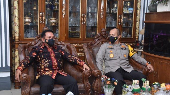 Jelang Hari Bhayangkara ke 75, Kapolda Jambi Melakukan Anjangsana ke Rumah Purnawirawan Polri