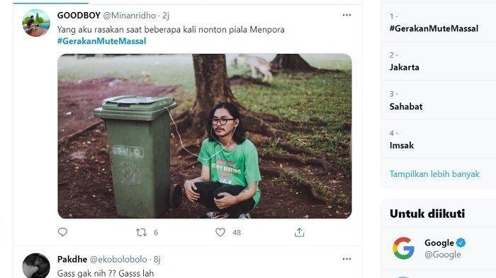 TRENDING #GerakanMuteMassal hingga Komentar Admin Bali United, Lengkap Semifinal Piala Menpora 2021
