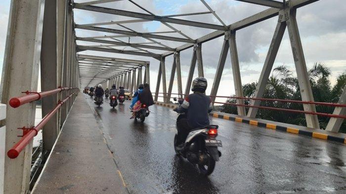 Arus Lalu Lintas di Ruas Jalan Nasional di Jambi Lancar Selama Momen Lebaran Idul Fitri