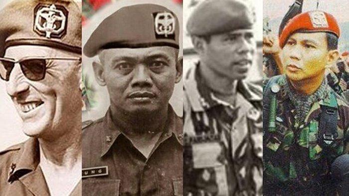 LIMA Danjen Kopassus yang Melegenda, Misi Tumpas PKI, Tanggulangi Teroris hingga Pembebasan Sandera