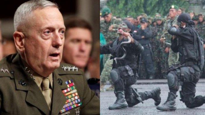 Jenderal 'Mad Dog' yang 'Jiper' saat Lihat Kopassus Minum Darah Kobra, Mundur