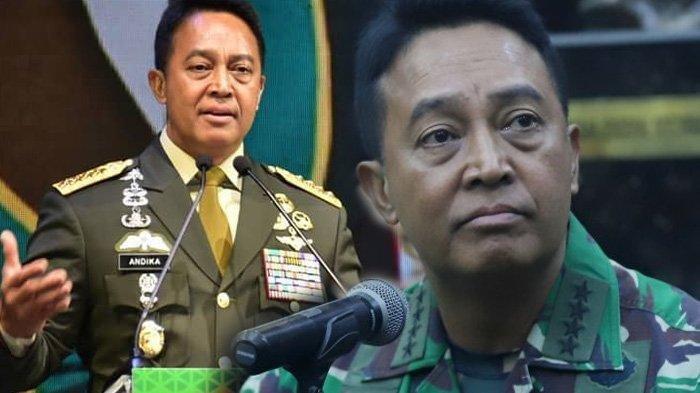 'Murkanya' KSAD Andika Perkasa, Ada Istri TNI Buat Status di FB Inginkan Rezim Jokowi Tumbang