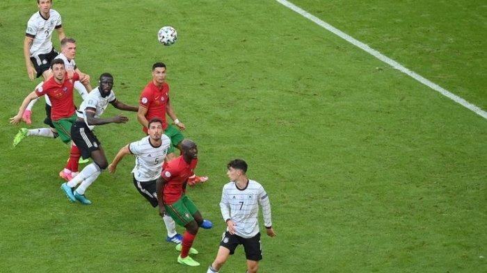 Klasemen Grup F EURO 2020 Setelah Jerman Bantai Portugal, Mampukah CR7 Cs Masuk Babak 16 Besar?