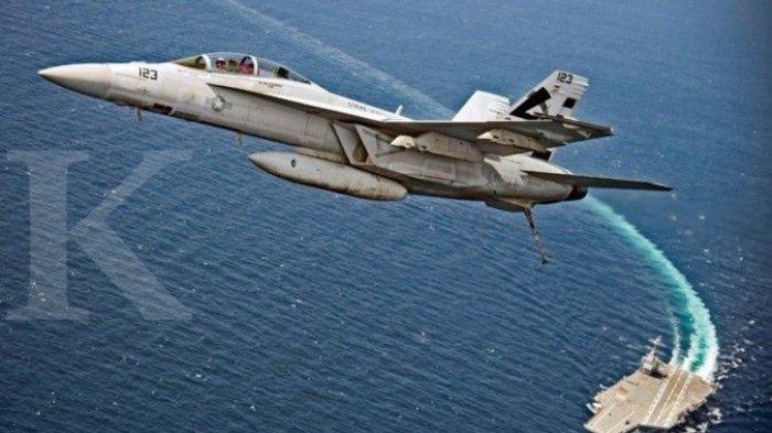 ILUSTRASI. Ilustrasi jet tempur AS. U.S.
