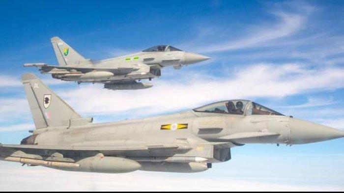 Perkuat Militer Indonesia Menhan Prabowo Incar Pesawat Tempur Eurofighter Typhoon Mirip Sukhoi 35