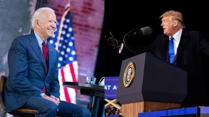 Joe Biden Menang di Pilpres AS, Donald Trump :Saya Tidak Mengakui Apapun, Jalan Kita Masih Panjang