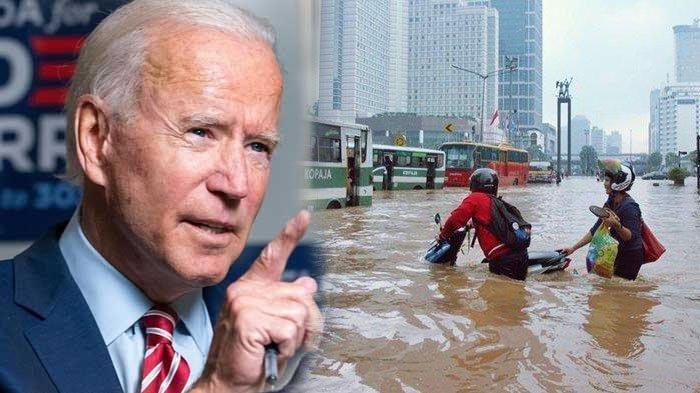 Joe Biden Singgung Soal Jakarta yang Diprediksi Akan Tenggelam 10 Tahun Lagi