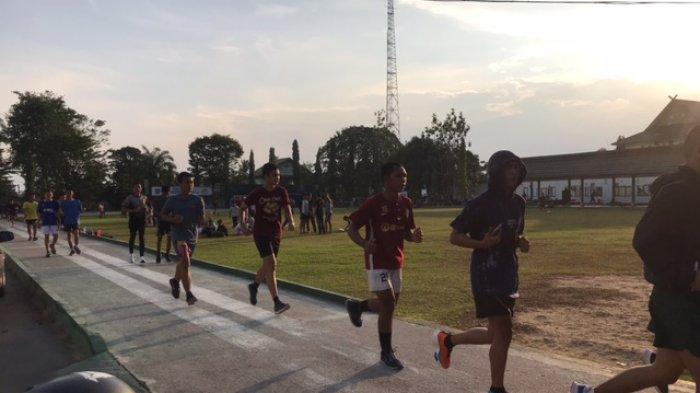 Masyarakat Jambi Mulai Terapkan Hidup Sehat, Arena-arena Jogging di Kota Jambi Tampak Ramai