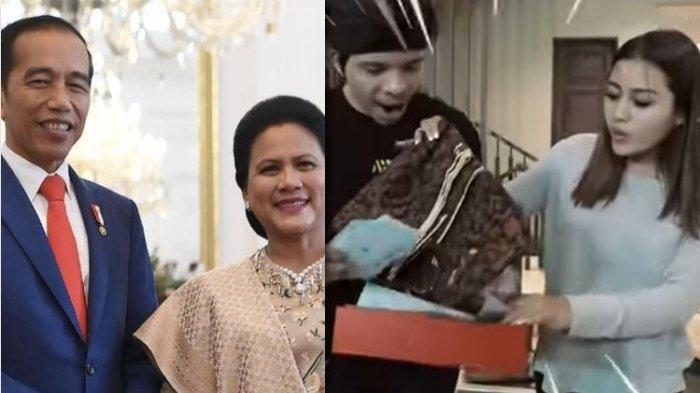 Aurel Syok Lihat Kado Spesial Presiden Jokowi - Iriana, Atta Halilintar: Coraknya Keren Banget!
